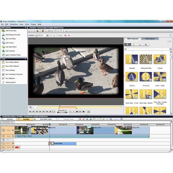 Advanced Video Editing With VideoWave