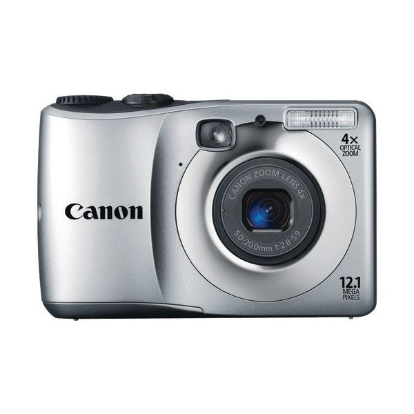 Canon PowerShot A1200 front -silver