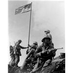 472px-First Iwo Jima Flag Raising