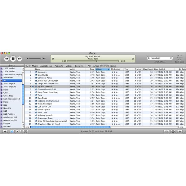 ITunes 5 - An Old Version Of The ITunes Software