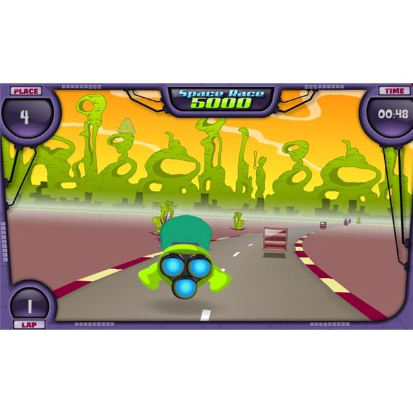 Space Race 5000 Game Screenshot - free mmos Planet Cazmo