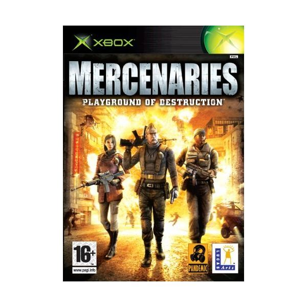 Mercenaries: Playground of Destruction Xbox Game Review | 600 x 600 jpeg 54kB