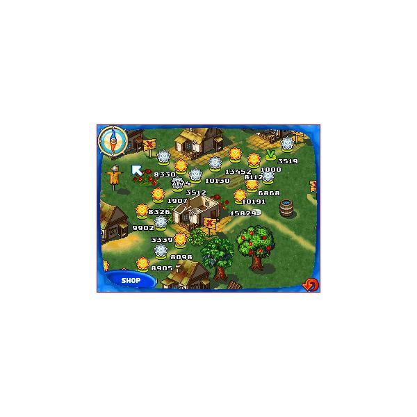 Farm Frenzy Map