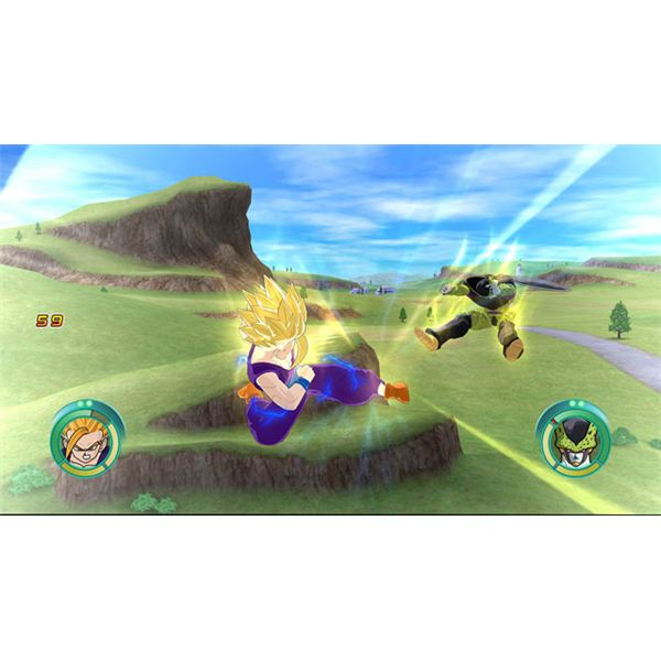 Dragon Ball Z Raging Blast Cheats: Screenshot 1