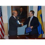 Gunnar Lund amend the existing bilateral income tax treaty between US and Sweden