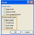 Section Break