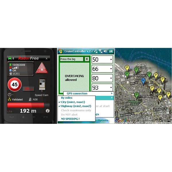 Windows Mobile GPS apps for driving