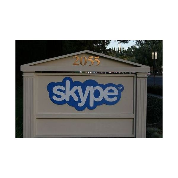 Skype can be used for online meetings