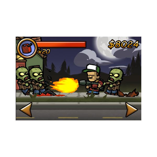 Zombieville USA Review - Zombie Killing Action for the iPhone, iPod Touch and iPad