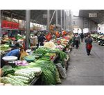 The farmer's market near the Potala in Lhasa