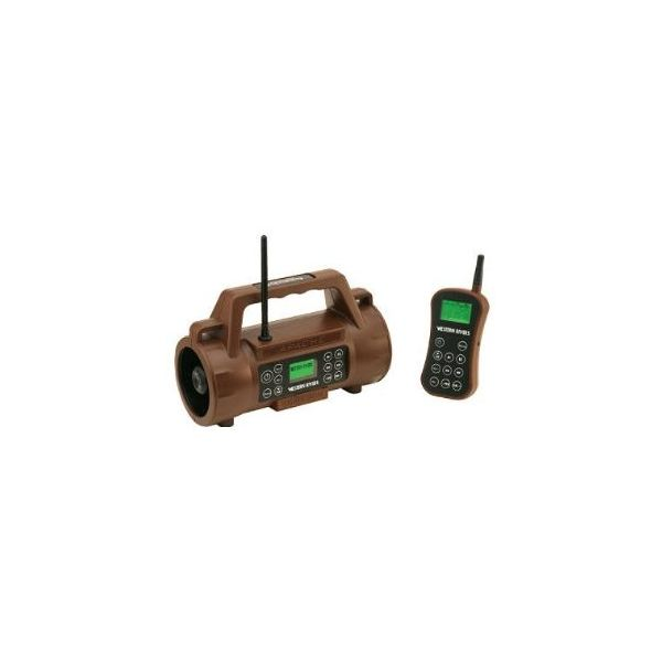 Western Rivers Remote MP3 Game & Predator Caller includes 200 game sounds