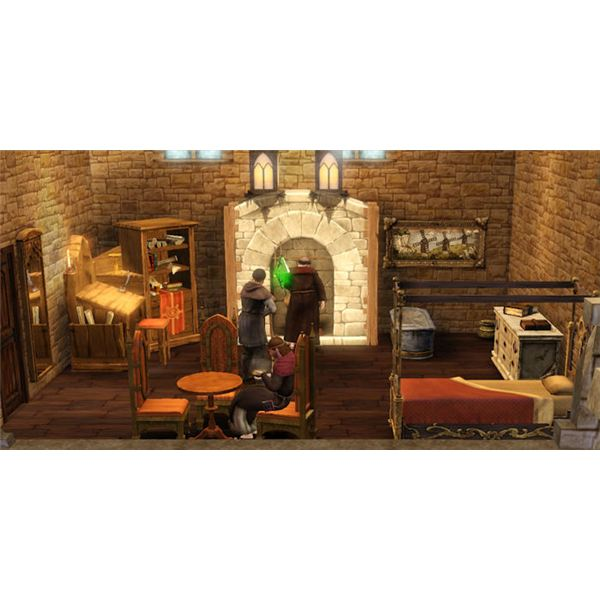 The Sims Medieval Peteran Monastary Living Quarters