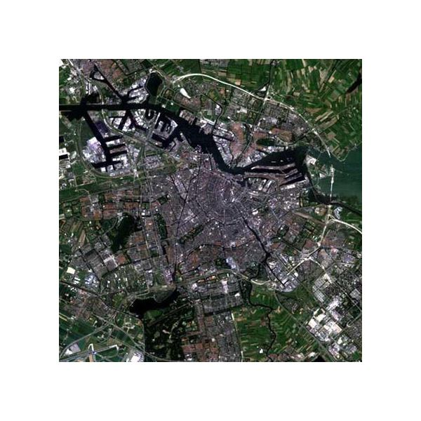 Amsterdam as Photographed by Landsat