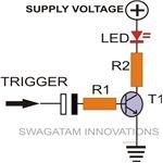 Momentary Pulse Generating Circuit Diagram, Image