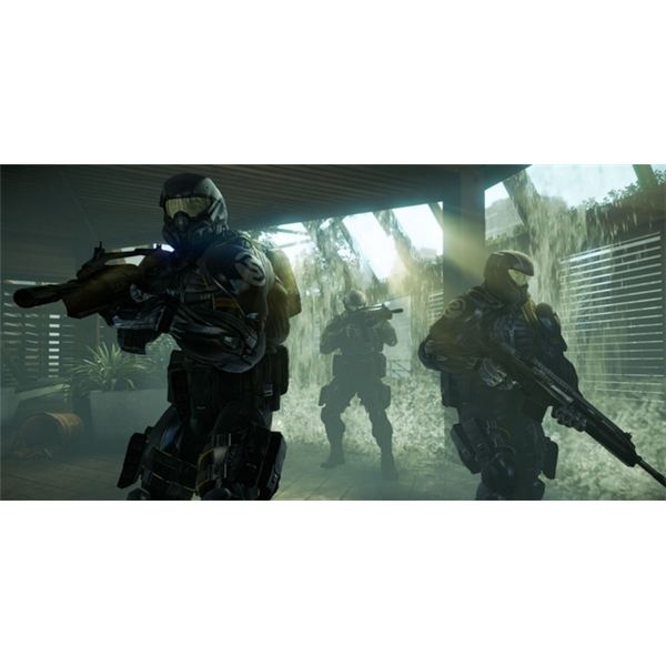 You can engage in a number of cooperative and competitive multiplayer modes.