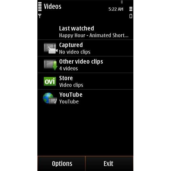 Nokia Video Player
