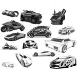 Concept Car Brushes 1 by zoomanchoo