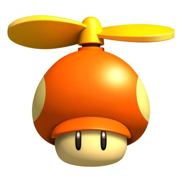 Propeller Mushrooom