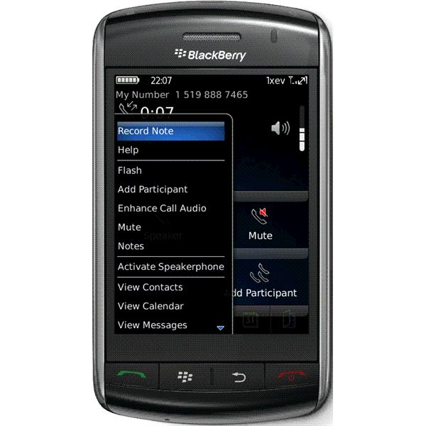 How to Record BlackBerry Calls