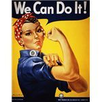 Rosie the Riveter Has What It Takes!