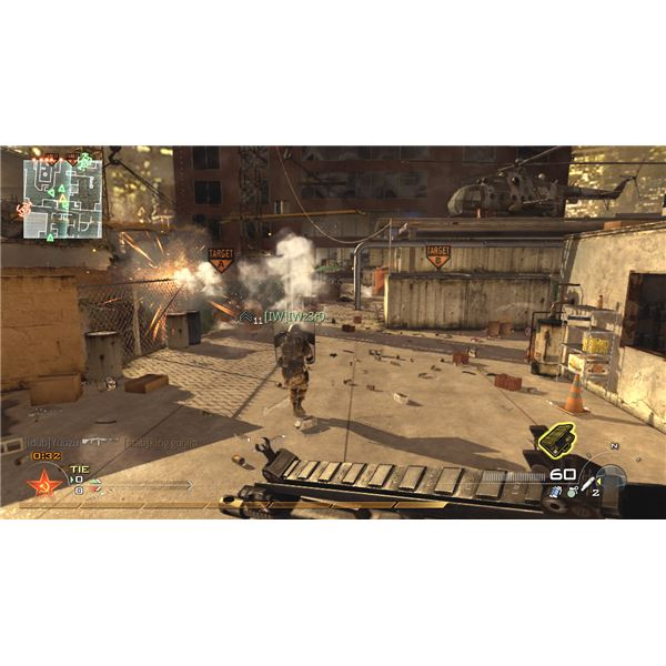 Modern Warfare 2 has stuningly realistc graphics, all the worse for those concerned with violence