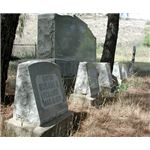 Family buried together following the St Francis Dam Disaster from scvhistory