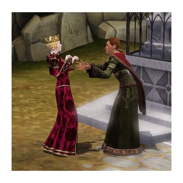 The Sims Medieval divorce by Peteran Priest