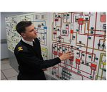 marine engineer operating Inert gas plant