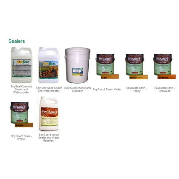 SoyClean Products -SoySeal Concrete Sealer