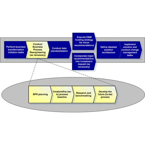 Conduct Business Process Reengineering