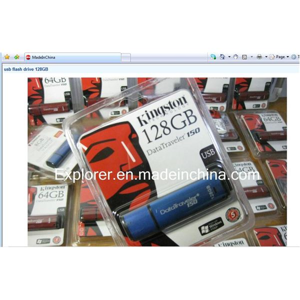 Supposed DT 150 128GB USB drive- note good quality