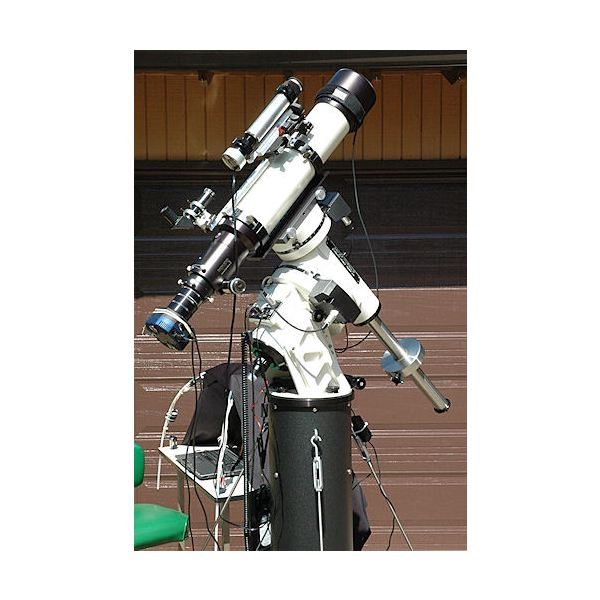 A Tele Vue Refractor with a CCD Camera