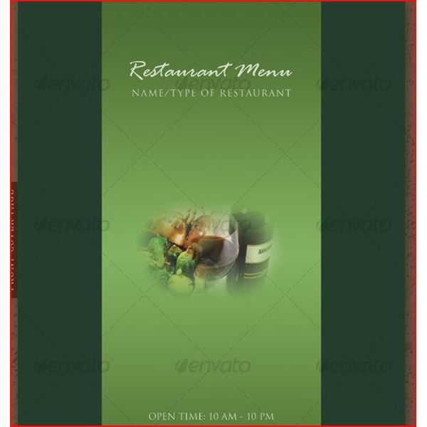 If You Need A Restaurant Menu Template Here Are 11
