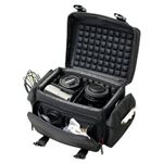 Nikon D5000 12.3MP DX Digital SLR Camera Carrying CaseCrown Protective Premium Air Cell System Camera Bag