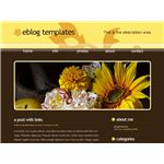 Nature's Charm Blogger Template