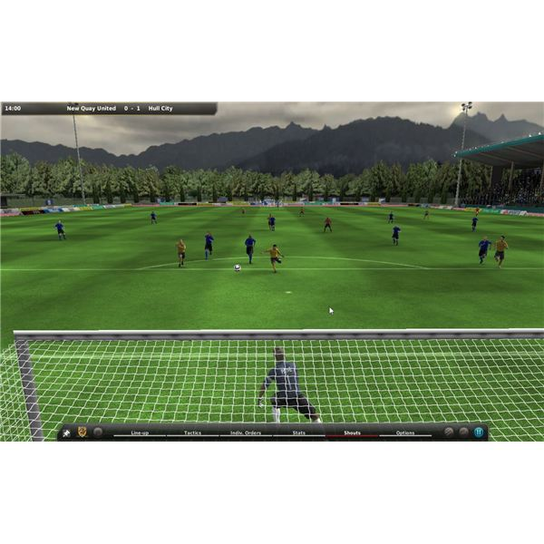 FIFA Manager 10 3D Match Engine - Influencing Your Team