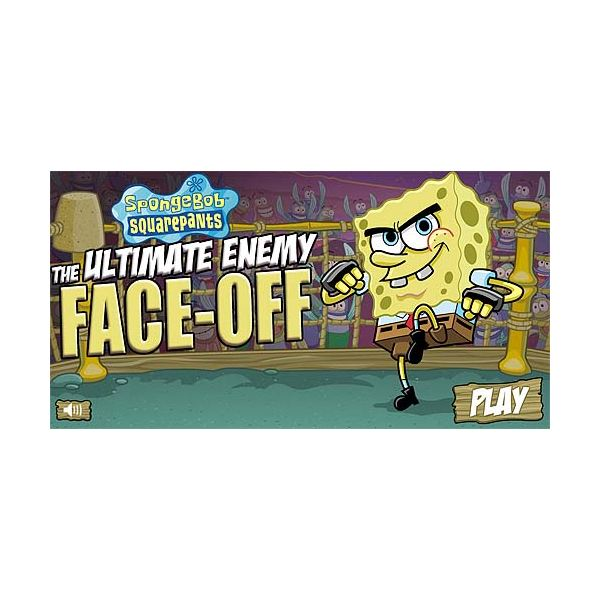 Ultimate Enemy Face-Off SpongeBob game