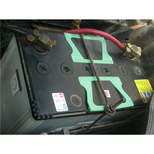 Car Battery Reads  Volts