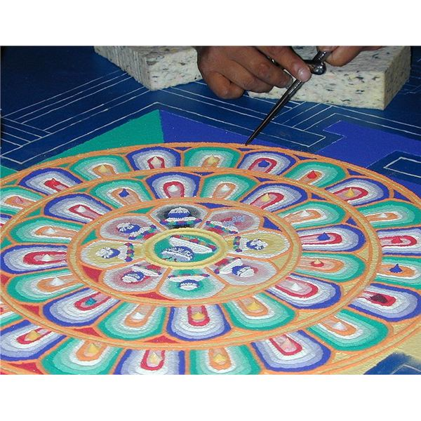 Mandala Art Lesson Plan: Handout & Activity