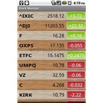 Stock Monitor Android App
