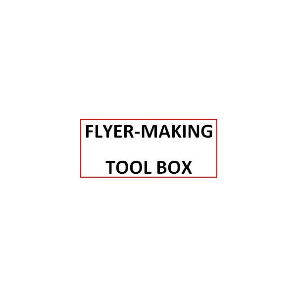select your best tool for making printable flyers for free