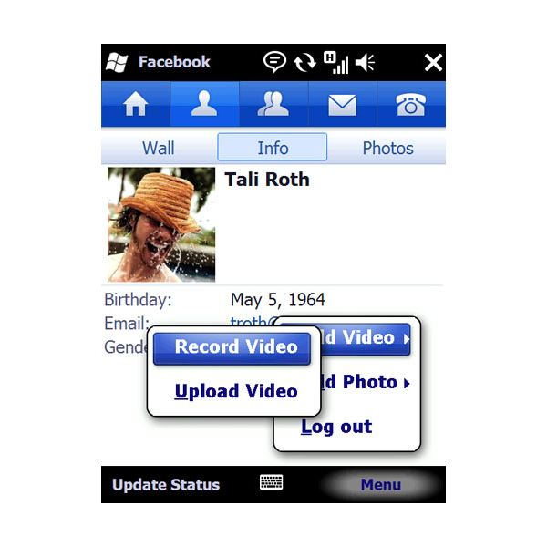 Facebook Windows Mobile App