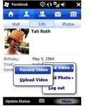 Facebook Windows Mobile App