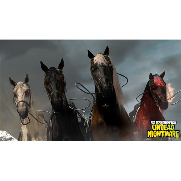 Undead Nightmare Four Horses of the Apocalypse: Red Dead Redemption Guide