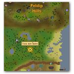 Location of Spined Larupia in Runscape