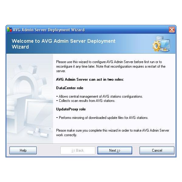 Admin Server Deployment Wizard