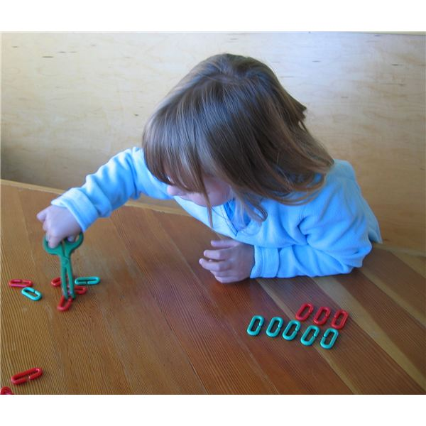 Using toy pliers