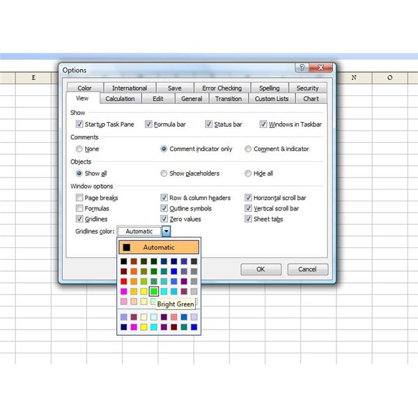 How To Change Excel Default Workbook Settings By Modifying Standard