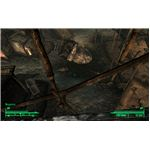 Fallout 3 - This Railing in Megaton is a Great Place to Leap From