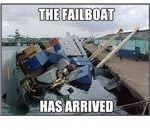 failboat arrival